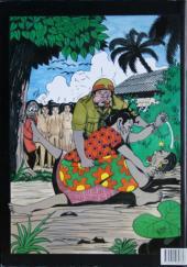Verso de Afro-Bulles -1- Couleur café