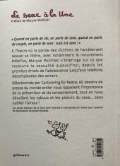 Verso de Cartooning for Peace - Le sexe à la une