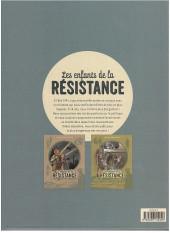 Verso de Les enfants de la Résistance -INT2- Intégrale 2 - Tomes 3 et 4