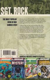 Verso de Showcase Presents: Sgt Rock (2007) -INT01- Showcase Presents: Sgt Rock Volume Four