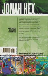 Verso de Showcase presents: Jonah Hex (2005) -INT01- Showcase presents: Jonah Hex Volume One