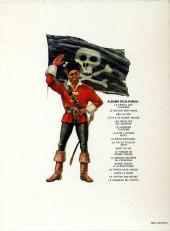 Verso de Barbe-Rouge -5a77- Les révoltés de l'Océane