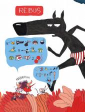 Verso de Le loup en slip -HS- Le Loup en Slip : Cahier d'Activités et Jeux Idiots