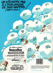 Verso de Gaston -7a1985- Un gaffeur sachant gaffer