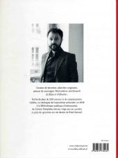 Verso de (AUT) Sattouf -Cat- L'écriture dessinée