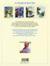 Verso de Le chevalier de Saint-Clair -4- Mission en Forêt-Noire suivi de Les trois Forts de l'Ouest