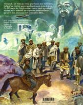Verso de Avec Massoud -1- Tome 1