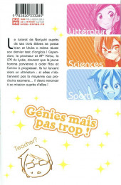 Verso de We never learn -2- Tome 2