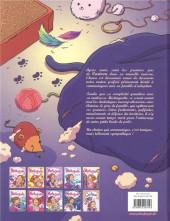 Verso de Mistinguette & Cartoon -2- Deuxième chat pitre