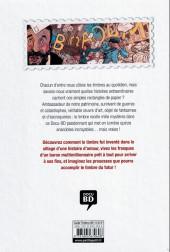 Verso de Histoires incroyables du timbre en BD - Histoires incroyables du timbre en DB