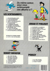 Verso de Johan et Pirlouit -12b1982- Le pays maudit