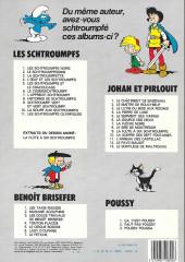 Verso de Johan et Pirlouit -10c82- La guerre des 7 fontaines