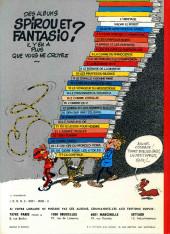 Verso de Spirou et Fantasio -4d77- Spirou et les héritiers