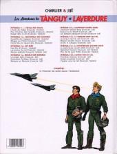 Verso de Tanguy et Laverdure -21pub- Premières missions