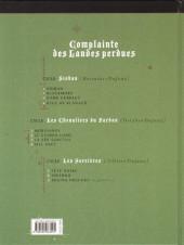 Verso de Complainte des Landes perdues -10- Inferno