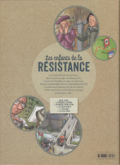 Verso de Les enfants de la Résistance -5- Le pays divisé