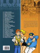 Verso de Léo Loden -26- Fugue en rave mineure