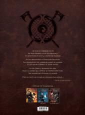 Verso de Serpent Dieu -1- Les Larmes d'Odin
