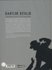 Verso de Babylon Berlin