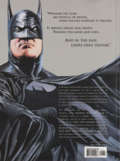 Verso de Batman: War on Crime