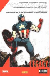 Verso de Marvel Legacy - Avengers Extra (Marvel France - 2018) -3- Hors du temps