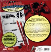 Verso de Marvel (Para-BD) - Jeu: Tu es Deadpool