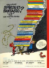 Verso de Spirou et Fantasio -7b1977/01- Le dictateur et le champignon
