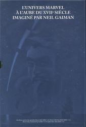 Verso de 1602 -INT- Marvel 1602