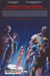 Verso de Hunt For Wolverine - Adamantium Agenda -INT- The Adamantium Agenda