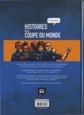 Verso de Histoires incroyables de la coupe du monde -a2018- Histoires incroyables de la coupe du monde de football 1938-2018