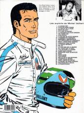Verso de Michel Vaillant -2- Le pilote sans visage