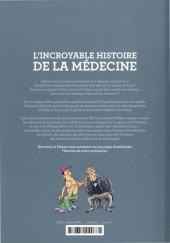 Verso de L'incroyable Histoire de la médecine - L'Incroyable Histoire de la médecine