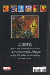 Verso de Marvel Comics - La collection (Hachette) -12589- Avengers - Avengers World