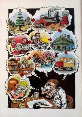 Verso de R. Crumb's Carload O' Comics (1996) -INT- R. Crumb's Carload O' Comics
