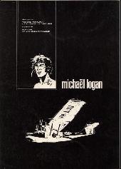 Verso de Michaël Logan -6- Le moineau déchainé + L'intrus