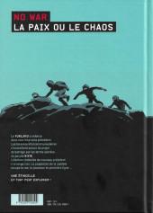 Verso de No War -1- Tome 1