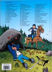 Verso de Les tuniques Bleues -53a2017- Sang bleu chez les bleus