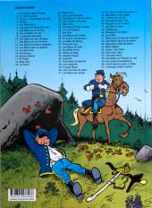 Verso de Les tuniques Bleues -50a2018- La traque