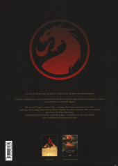 Verso de Le dernier dragon -1- L'Œuf de Jade