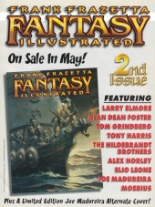 Verso de Frank Frazetta Fantasy Illustrated (1998) -1VC- Frank Frazetta Fantasy Illustrated #1