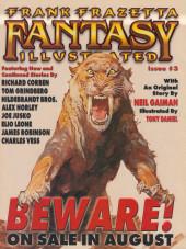 Verso de Frank Frazetta Fantasy Illustrated (1998) -2- Frank Frazetta Fantasy Illustrated #2