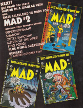 Verso de Mad (Tales Calculated to Drive You) (1997) -1- Mad (Tales calculated to drive you) #1
