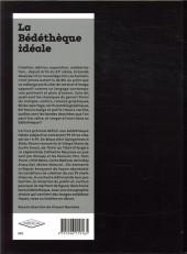Verso de (DOC) Conseils de lecture - La Bédéthèque idéale