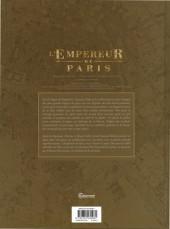 Verso de L'empereur de Paris - L'Empereur de Paris