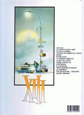Verso de XIII -6b2002- Le dossier Jason Fly