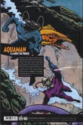 Verso de Aquaman : La Mort du Prince