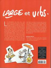 Verso de (AUT) Large et Urbs -2018- 1 an d'actualité vue par les dessinateurs de sud-ouest