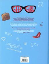 Verso de Geek girl -1- De Geek à chic...