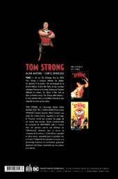 Verso de Tom Strong -INT1- Intégrale Tome 1