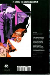 Verso de DC Comics - La légende de Batman -3556- Sombre reflet - 1re partie